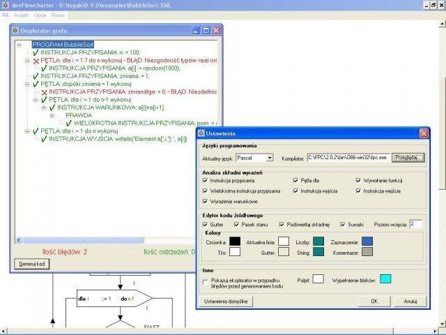 devFlowcharter screenshot