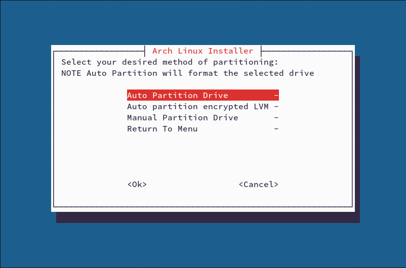 Arch Installer DH Edition download   SourceForge net