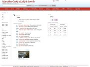 Search page, preview of headword
