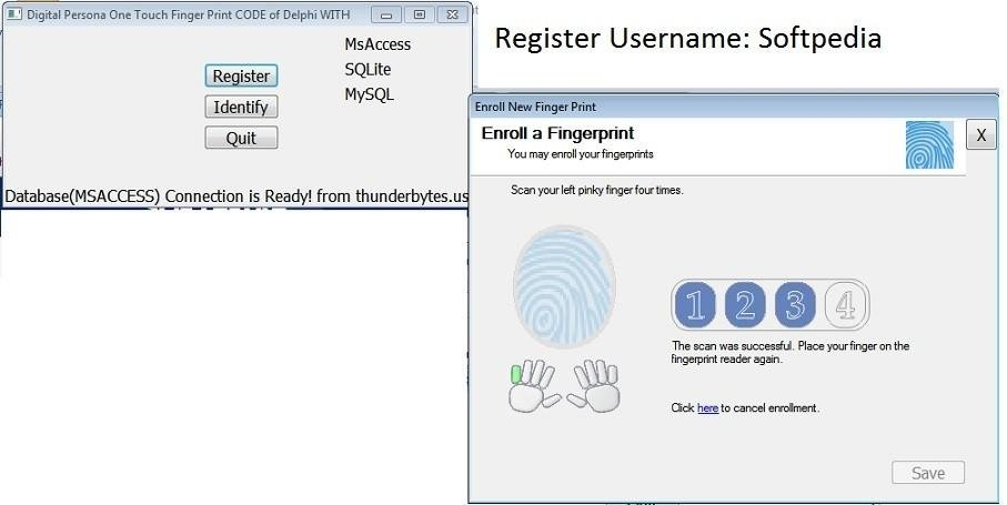 Digital Persona 1 Touch Delphi Code download | SourceForge net
