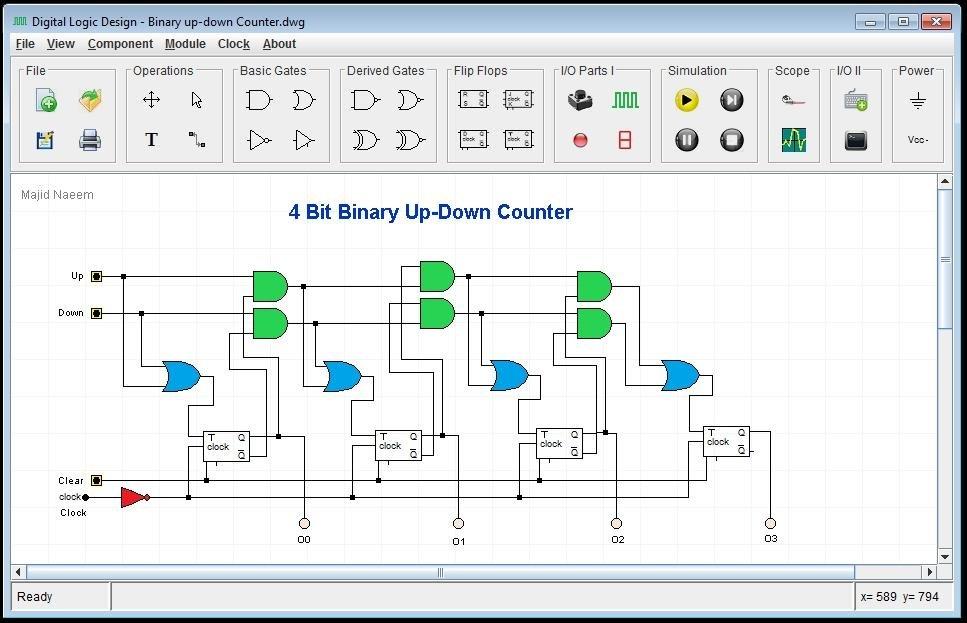 Logic diagram simulator online schematic diagram digital logic design download sourceforge net rh sourceforge net logic diagram simulator ladder logic diagram simulator ccuart Images