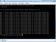 Show result after 3 click's-bash script for wget programm