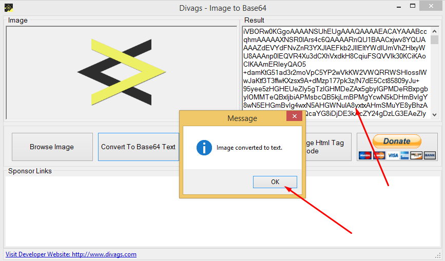 Divags Image to Base64 download   SourceForge.net