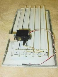 Motorized register