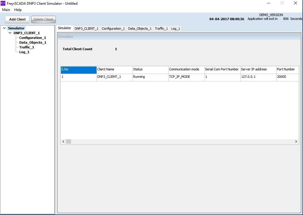 DNP3 Client Master Simulator download | SourceForge net