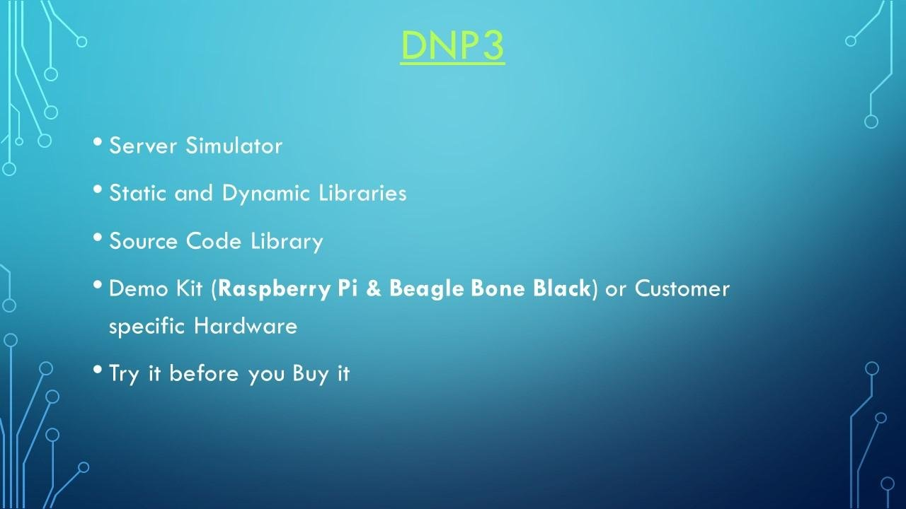 DNP3 Protocol download | SourceForge net