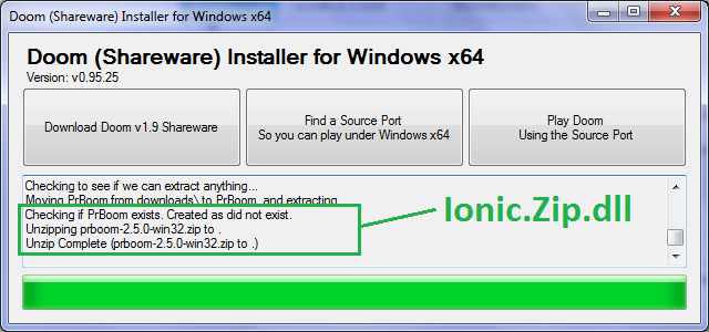 Doom Shareware Installer for Windows x64 download | SourceForge net