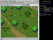 Another screenshot of DotK Engine v0.2 running on Firefox.