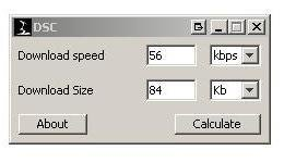 Download Time Calculator download | SourceForge net