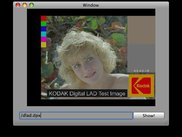 Simple DPX Viewer created with DPX4Mac.framework