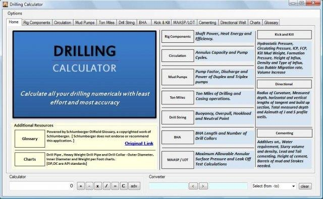 Drilling Calculator download | SourceForge net