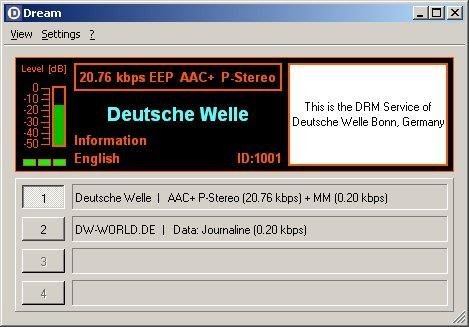 Dream AM/DRM Receiver download | SourceForge net