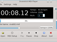 MIDI File Player (Linux)