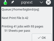 pqnext - Get Next Available Print Queue File Name