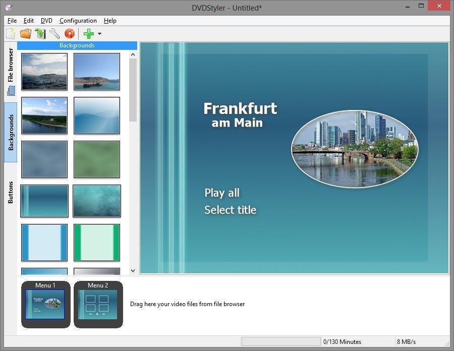 DVDStyler download | SourceForge net