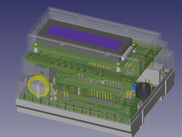 FreeCAD-PCB workbench: Universal programmable controller