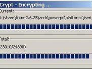 encrypting files.