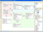 Main view and diagram editor