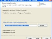 Windows Installer: plugin install location selection screen