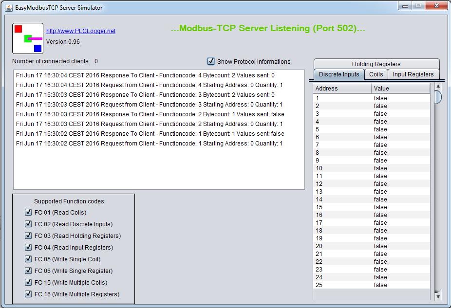 EasyModbusTCP/UDP/RTU  java download | SourceForge net