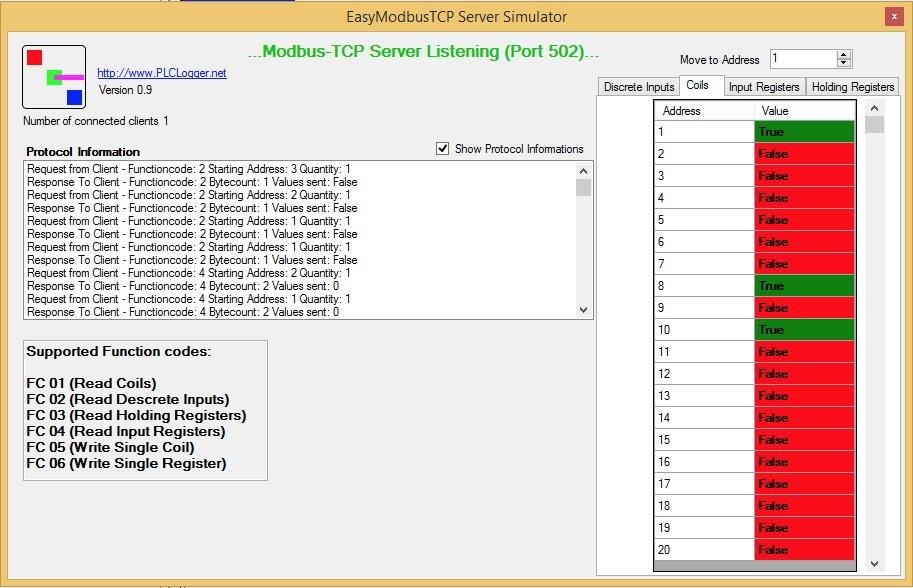 Paul: EasyModbusTCP Server  NET download