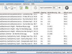 easyMP3Gain 0.4.0 GTK2 (german)