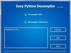Easy Python Decompiler download | SourceForge net