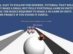 Easy Unity 3D Bowling Game tutorial  download | SourceForge net