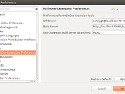 Extension Import Wizard Preferences