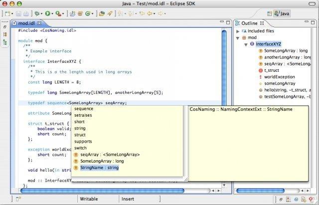 Eclipse CORBA Plugin download | SourceForge net