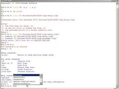 Windows LISP shell using ECL and RDNZL (by M. Goffioul)