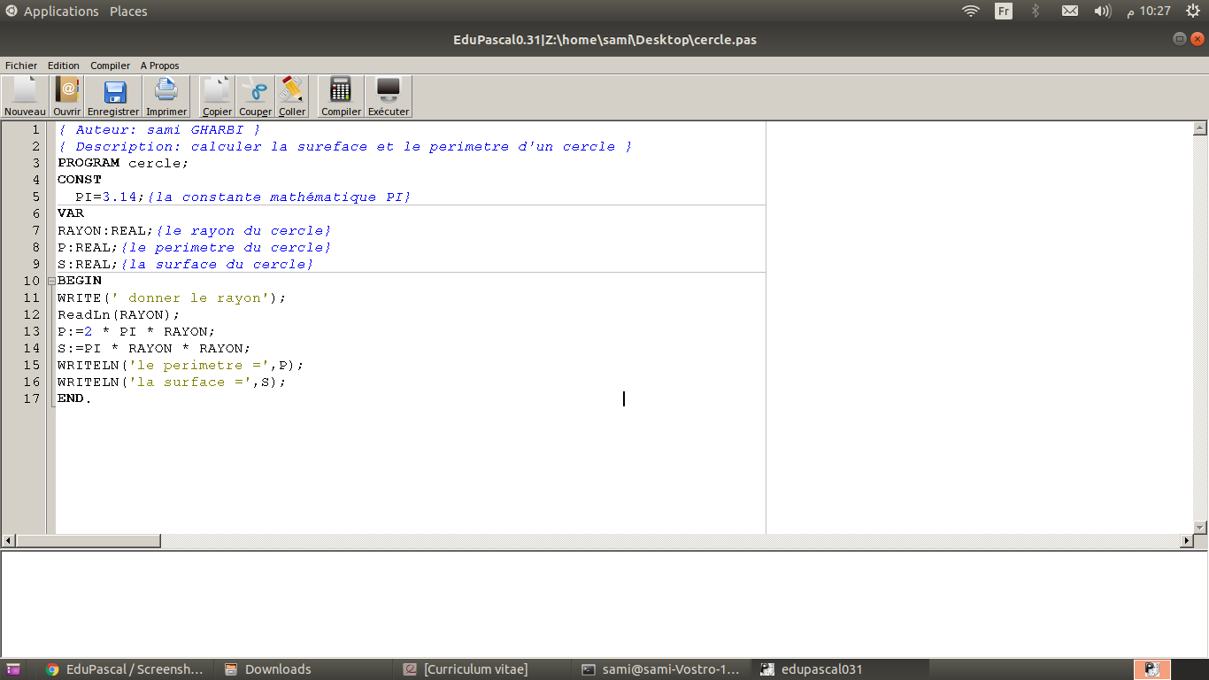 interface EduPascal