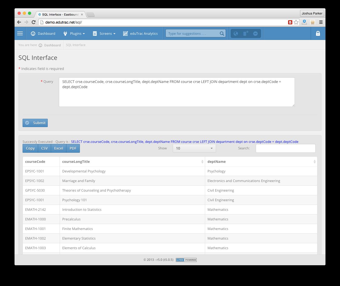 edutrac student information system download sourceforge net