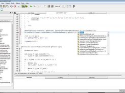 Edyuk 1.0.0-rc2 under Vista : Code completion at work