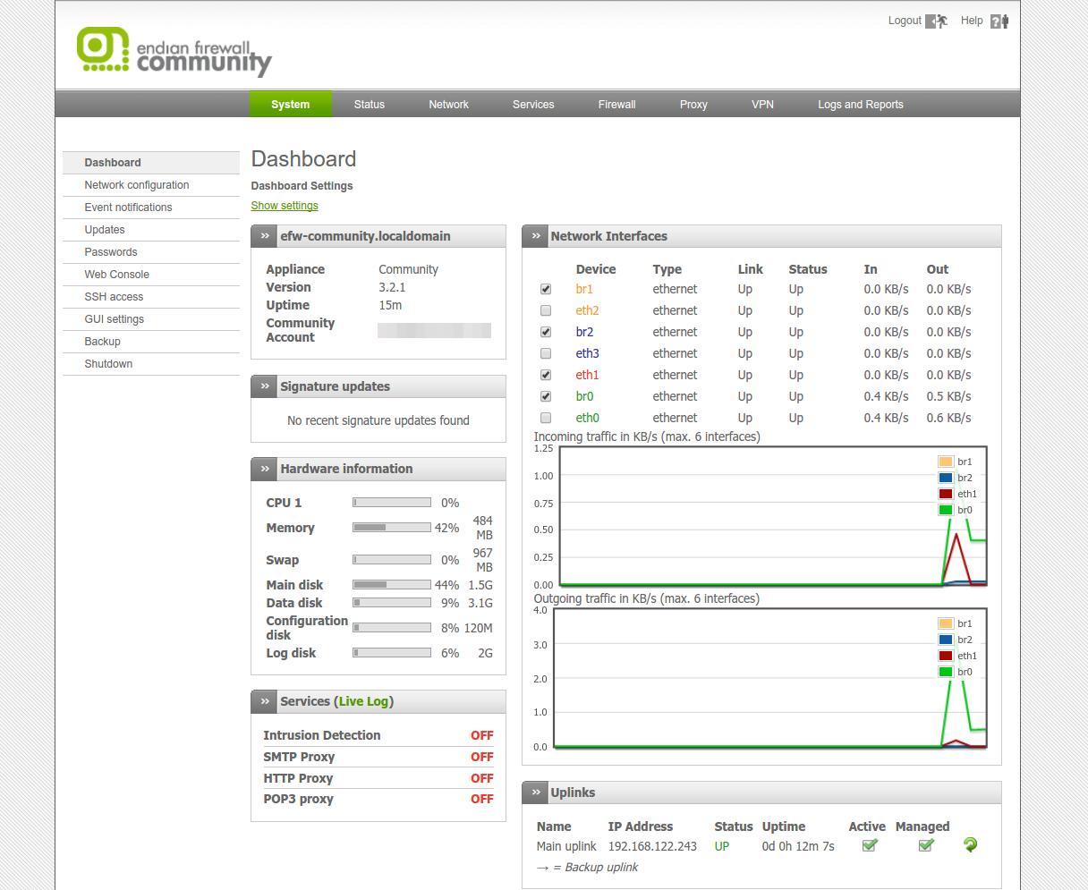 Endian Firewall Community Download Sourceforge Net