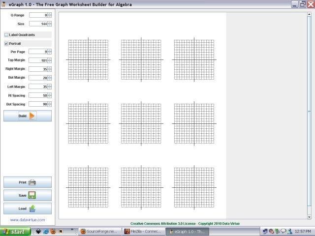 eGraph Algebra Worksheet Builder download – Worksheet Builder