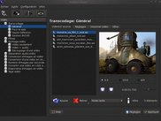 Interface for video transcoding