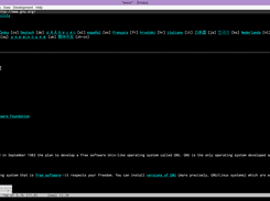 emacs-w64 download | SourceForge net