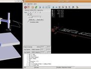 SCARA simulation on emc2 with AXIS and Python 3D display