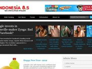 Frontpage eNdonesia 8.5