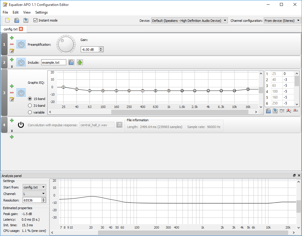 Equalizer APO download | SourceForge net