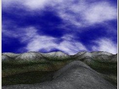 Terrain and sky dome