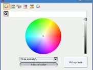 Asciate a color to employees for the resource booking screen