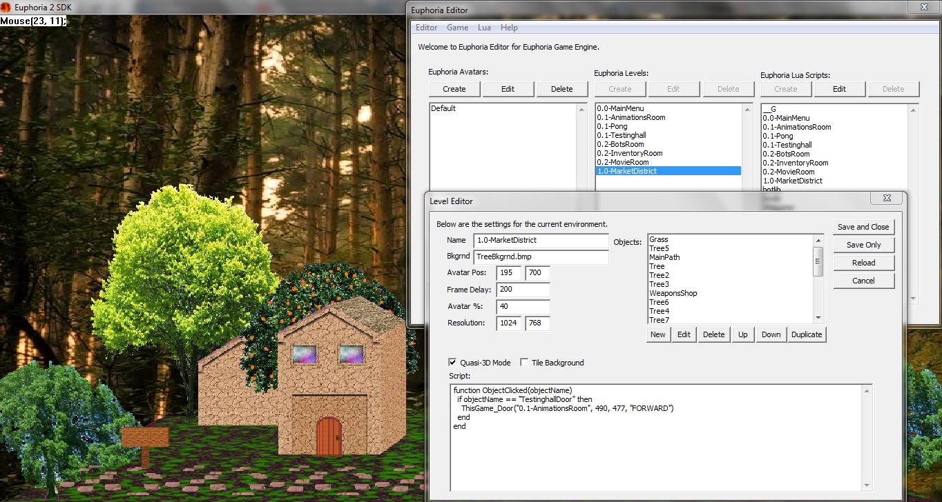 Euphoria Game Screenshots