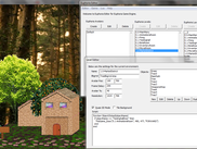 The integrated Euphoria Game Engine Editor in action