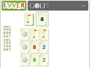 Lining up cards - Golf (0.5)