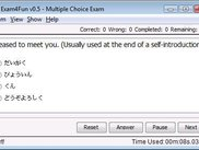 Multiple Choice Exam