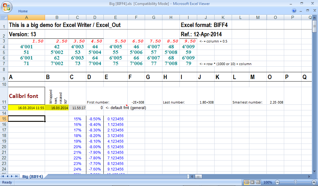 Excel Writer download | SourceForge net