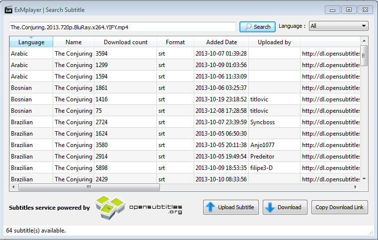 ExMplayer download | SourceForge net