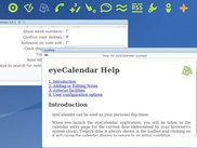 Helpfile of eyeCalendar
